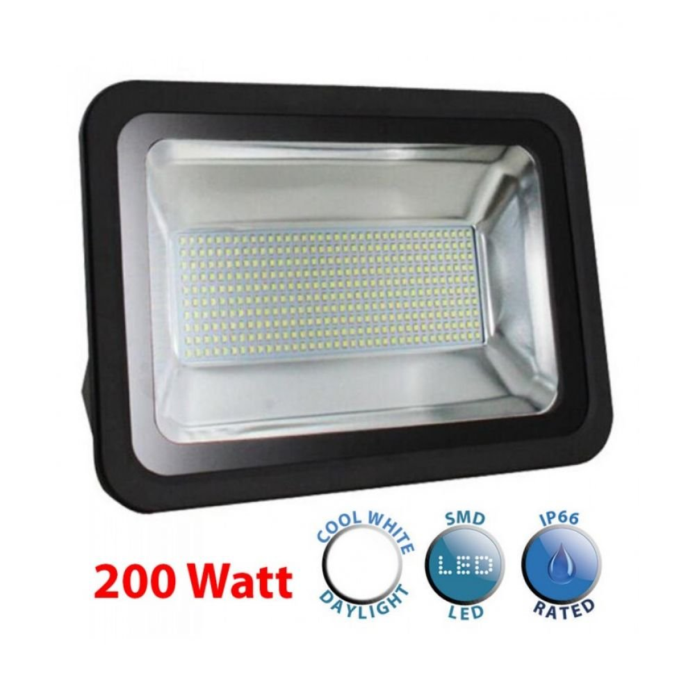 200w led floodlight ip66 daylight minisun pro2 20639 enviro lights. Black Bedroom Furniture Sets. Home Design Ideas