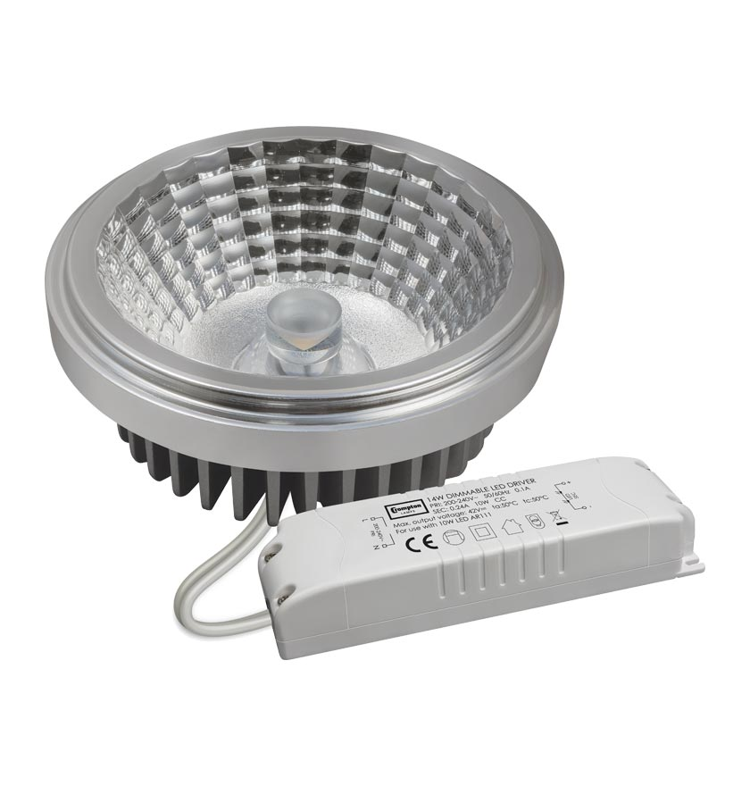 Crompton 3033 LED AR111 14W 4000k Cool White Dimmable
