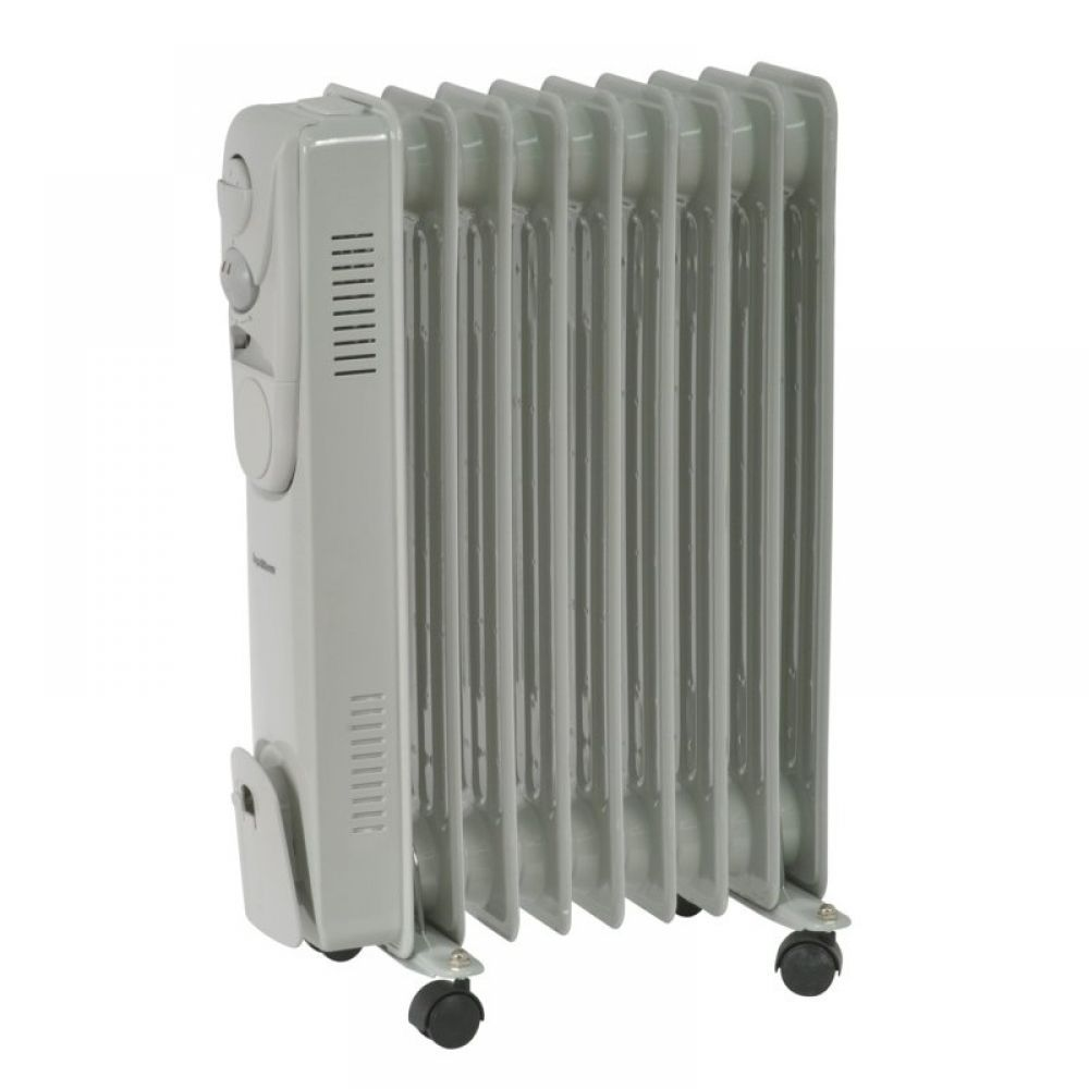 Supawarm Sofr9 Oil Filled Radiator With Thermostat Control 2000 Watt Enviro Lights