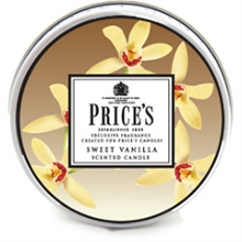 Price's Candles Scented Tin ( Sweet Vanilla )