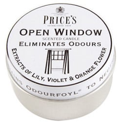 Prices Candles Open Window Tin - 413905