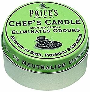 Prices Candles Chefs Tin Scented (123406)