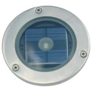SS7542-Solar Round Decking Light